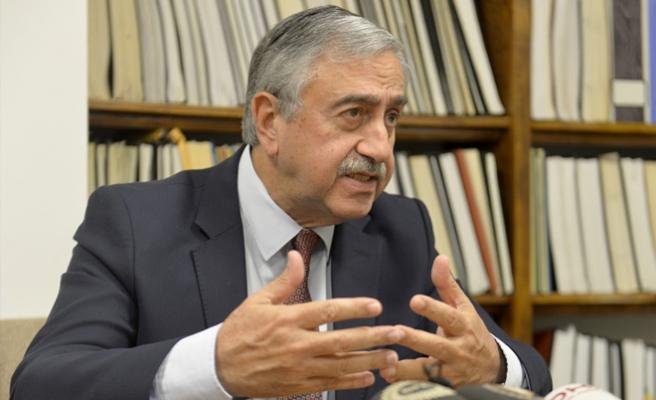 Akıncı AA'ya konuştu: Çözüm Türkiye'nin AB üyeliğini hızlandırır