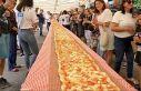 İtfaiyeciler için 103 metrelik pizza