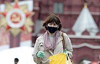 Rusya'da son 24 saatte koronavirüs kaynaklı 1075 can kaybı