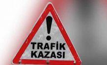 Bir kaza da Alsancak'ta! 1 kişi yaralandı