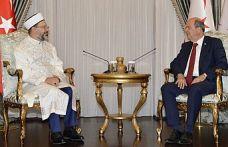 Tatar, TC Diyanet İşleri Başkanı Prof. Dr. Ali Erbaş'ı kabul etti
