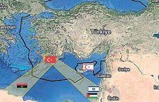Türkiye Mavi Vatan temelinde denizden kuşattı