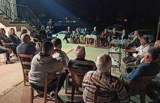 UBP Milletvekili Faiz Sucuoğlu, Akdoğan ve Vadili köylerini ziyaret ederek, UBP'liler ile buluştu