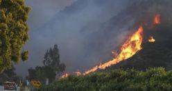 Yangının küle çevirdiği Kaliforniya'daki kasabadan görüntüler