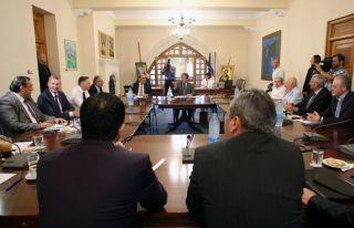 Anastasiadis Ulusal Konsey'i topluyor