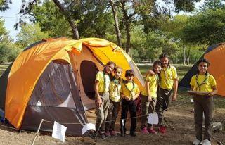1. Macera Kampı gerçekleştirdi