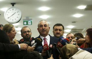 Çavuşoğlu: YPG Menbic'ten çekilmezse vuracağız