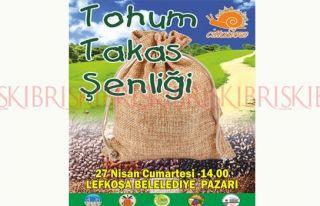 Tohum Takas Şenliği yarın Lefkoşa'da yapılıyor