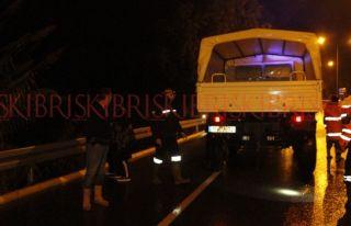 Ciklos'ta araç uçuruma düştü, kayıplara karıştı