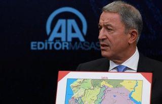 Akar: ABD'nin verdiği silahlar YPG'de kalacak diye...