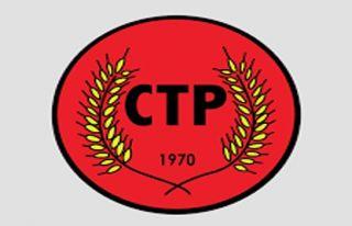 CTP'den Derinya ve Aplıç'la ilgili açıklama