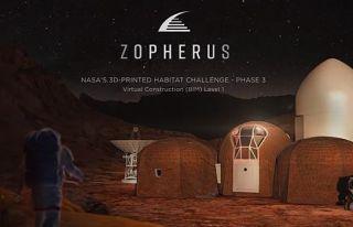 NASA Mars'ta inşa edilecek konut projelerini tanıttı