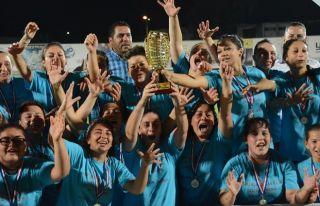 Kadınlarda şampiyon Göçmenköy