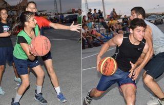 Sokak basketbolu tamamlandı