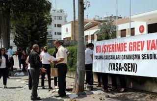 YASA-SEN'den bir saatlik uyarı grevi