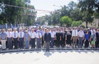 Lefkoşa'da Şehitler Anıtı'nda tören düzenlendi