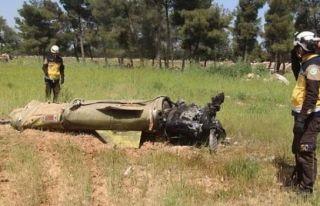 Rus savaş uçakları İdlib civarını bombaladı