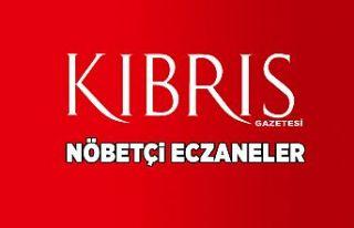 06 Temmuz 2019 Nöbetçi Eczaneler
