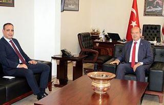 Başbakan Tatar, Harmancı'yı kabul etti