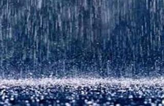 En çok yağmur Pile'ye yağdı