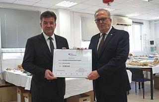 Kayıp Şahıslar Komitesi'ne 10 bin euro bağış
