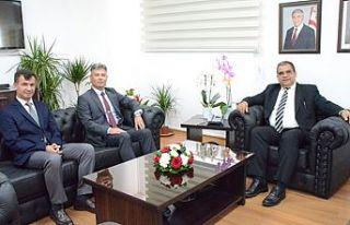 Sucuoğlu, Sivil Savunma Teşkilatı yetkililerini...
