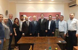Töre Makedonya'da Türk Hareket Partisi'ni ziyaret...