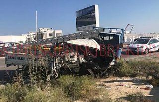 6 araç birbirine girdi, 5 kişi yaralandı