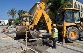 9 sokakta kanalizasyon hattı döşenecek