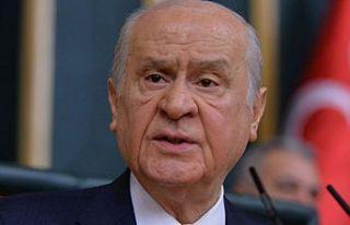 MHP Genel Başkanı Bahçeli: AB aklını başına...