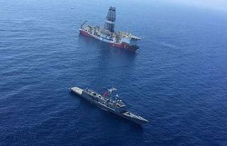 Sondaj gemilerinin Doğu Akdeniz'deki çalışmaları...