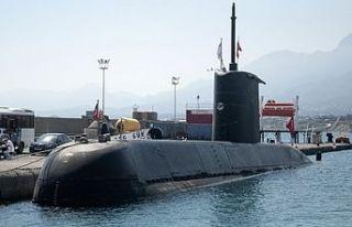 TCG Gür Denizaltısı ziyarete açıldı