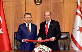 Türkiye ile KKTC arasında mali protokol imzalandı