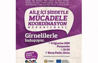 Girne'de aile içi şiddet konuşulacak