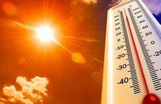 Hava sıcaklığı yarın da 40 derecenin üzerinde...