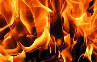 Lefkoşa'da korkutan yangın