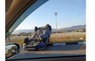 SON DAKİKA: Lefkoşa - Alayköy yolunda kaza!
