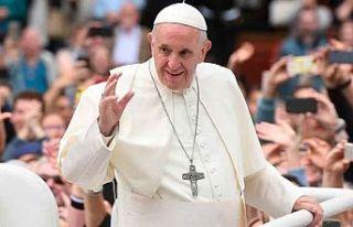Mahsur kalan Papa 25 dakika sonra kurtarıldı