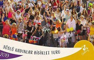 Süslü Kadınlar Bisiklet Turu pazar günü