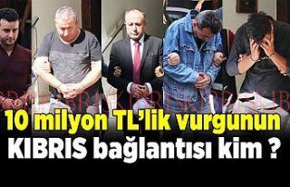 10 milyon TL'lik vurgunun Kıbrıs bağlantısı...