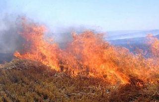 3 saatte 4 yerde yangın çıktı, Lefkoşa itfaiyesi...