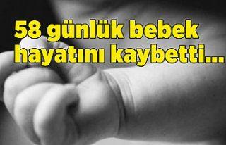 58 günlük bebek acil serviste rahatsızlanarak hayatını...