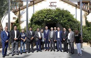 Akıncı, Girne ve Ürdünlü Belediye Başkanlarını...