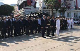 Cumhuriyet Bayramı Girne'de de törenlerle kutlandı