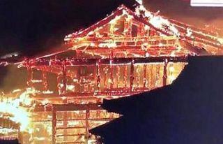 Dünya Mirası gözler önünde yanıyor