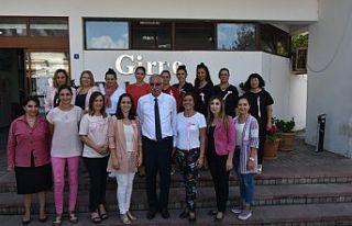 Girne Belediyesi çalışanları farkındalık için...