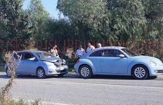 İskele-Çayırova yolunda meydana gelen kaza ucuz...