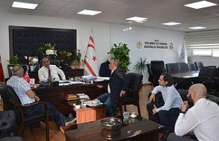 Sucuoğlu Türk Tabipler Odası heyetini kabul etti