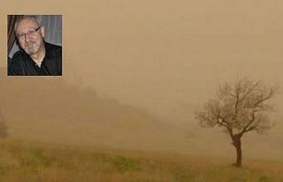 """""""Tozlu havada, maske kullanılmalı"""""""
