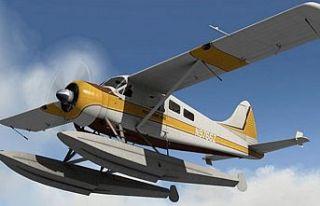 Dünyanın elektrikli ilk ticari uçağı deneme uçuşu...